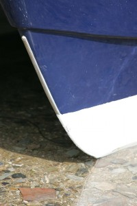 Twin hulls and keel bands make beaching very simple