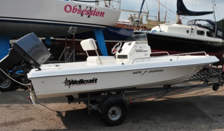 Used powerboats: Wellcraft 160 Fisherman