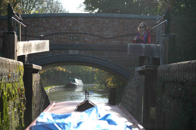 Moving on – how to operate a lock on a canal