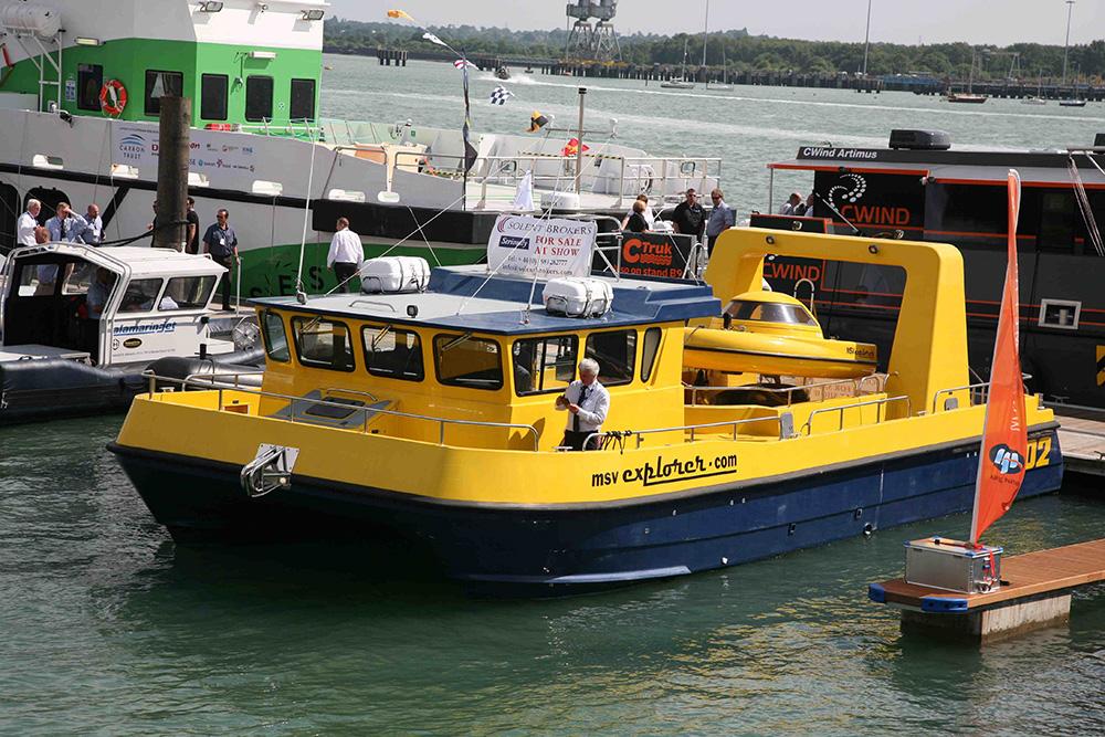 MSV Explorer at Seawork