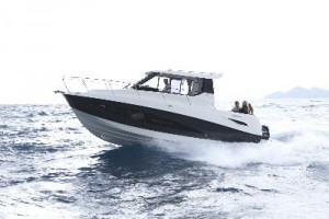 Quisilver Activ 855: new powerboats at London Boat Show 2015