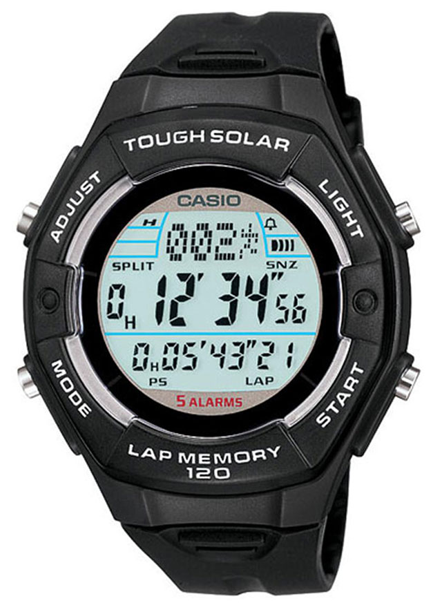 Solar powered Casio watch