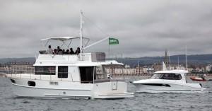 The Swift Trawler is a very stable photography and media boat