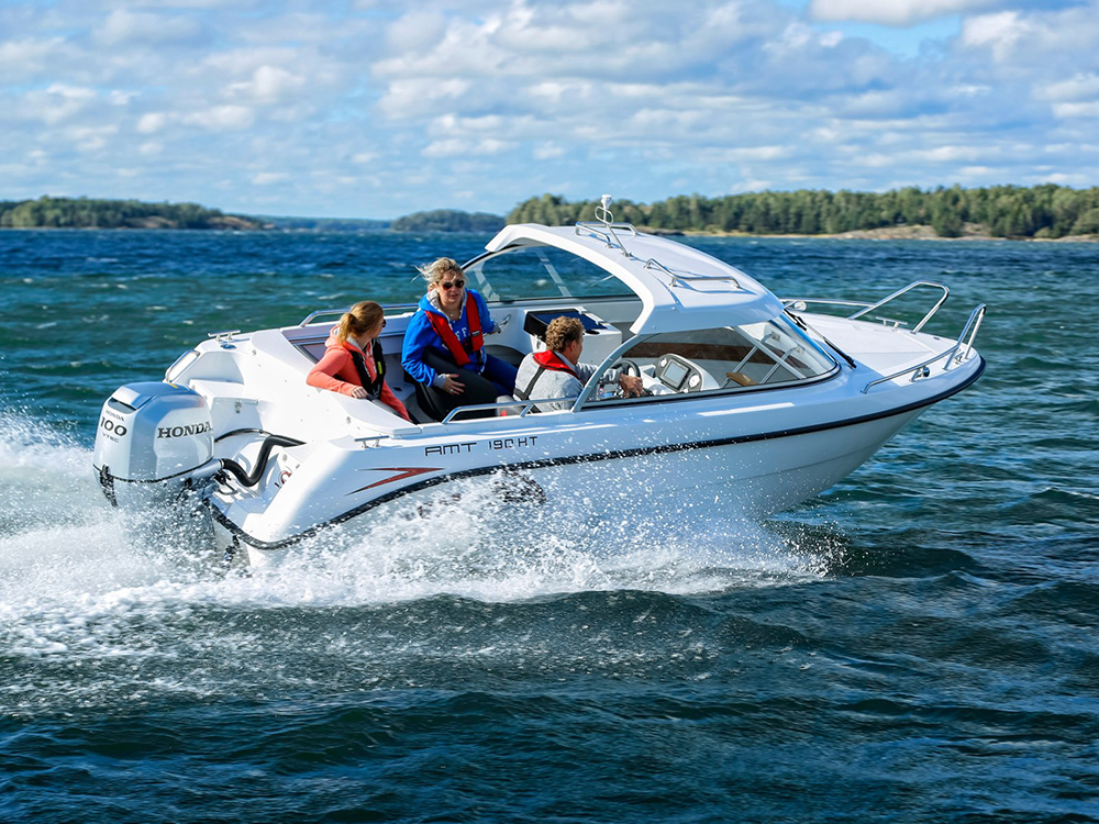 Budget powerboats: AMT 190