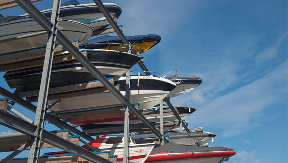 Love your boat: Dry Stack