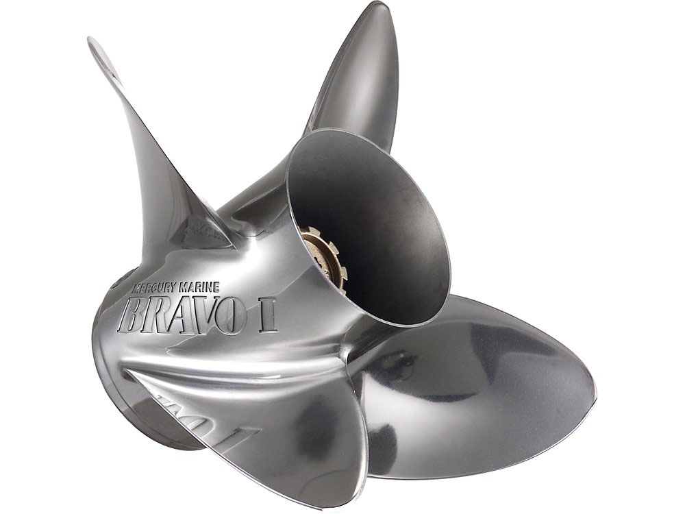 Stainless propeller: how to improve your powerboat
