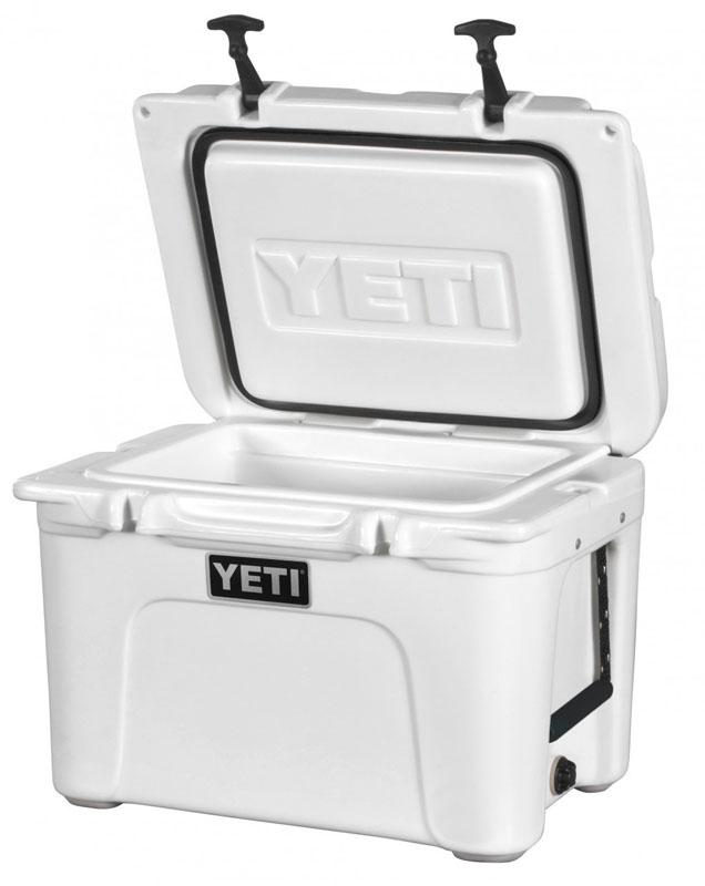 Yeti Tundra cool box.