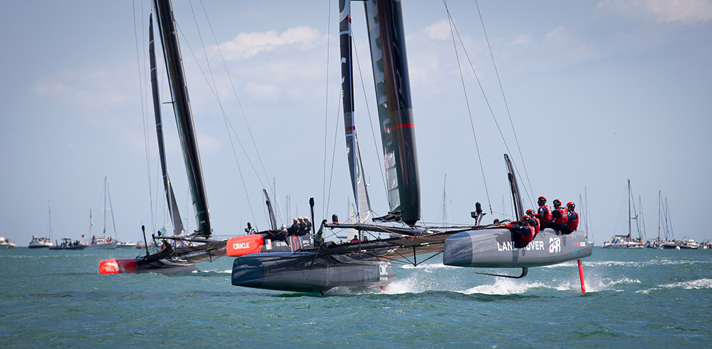 Americas's Cup World Series Portsmouth 2015. Photo Onedition