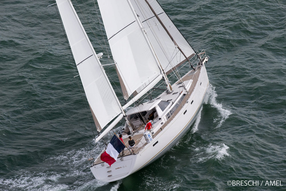 Amel 64: four of the best Amel yachts