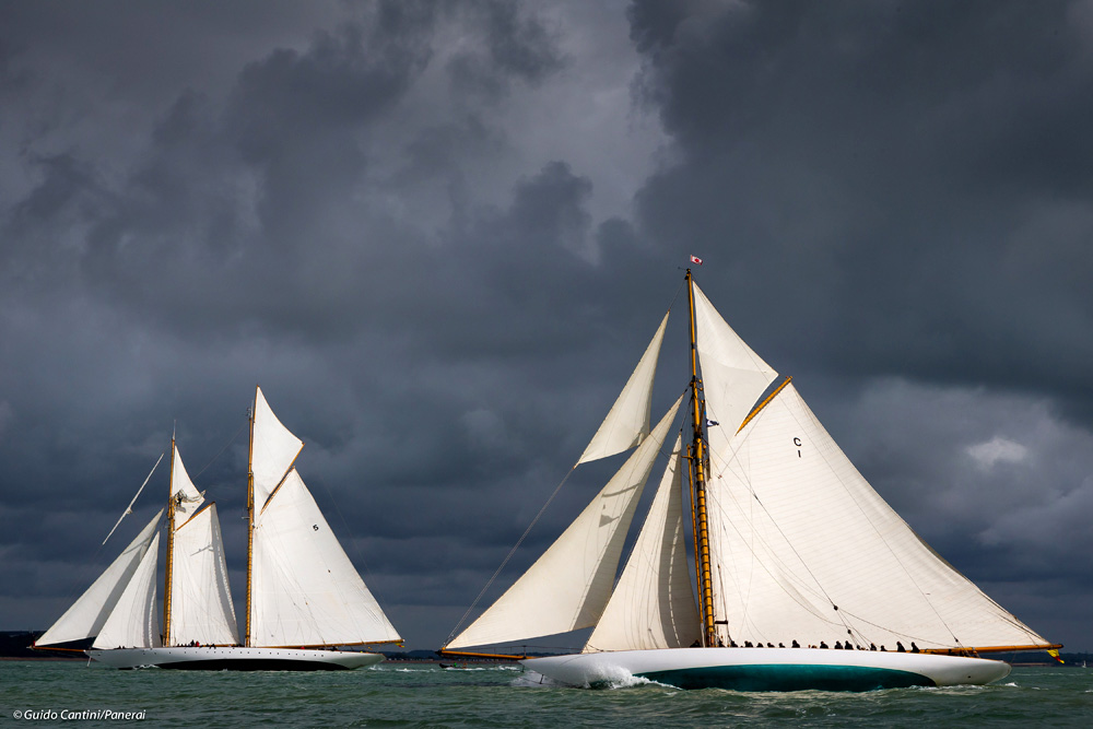 Two classic yacht beauties.