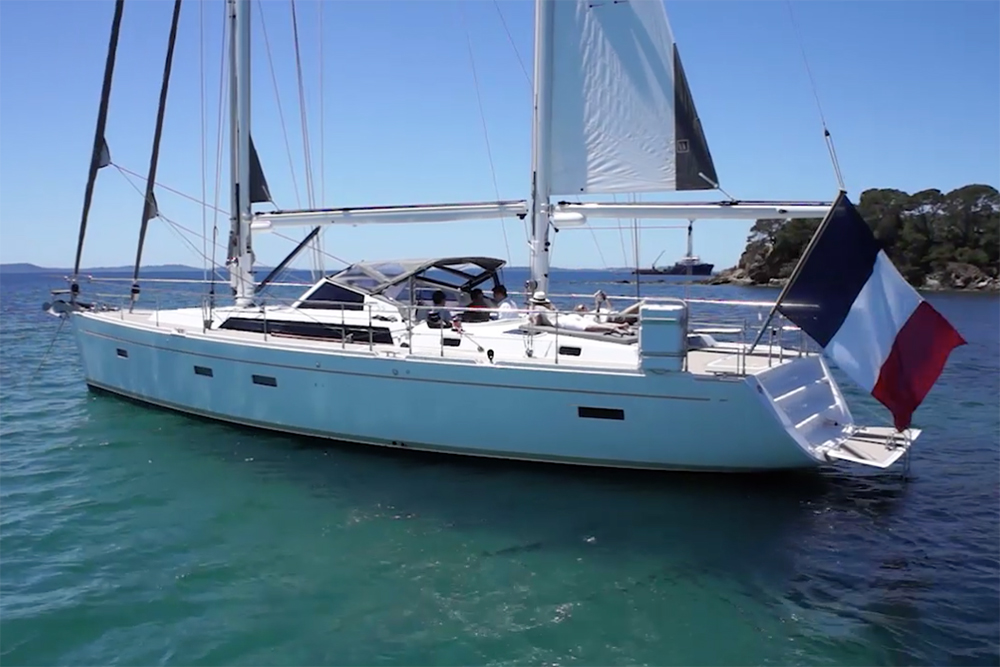 Four fo the best Amel cruising yachts