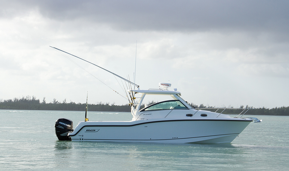 An off-the-shelf Boston Whaler 315 Conquest will be crossing the Atlantic to celebrate the brand's 60th anniversary.