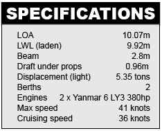 Aquariva Super Specifications