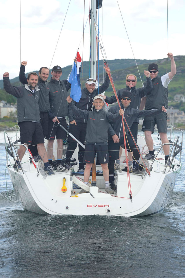 Fever Glenfiddich wins the Brewin Dolphin Scottish Series Trophy