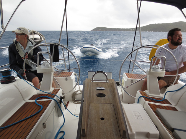 First day in the BVIs