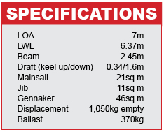 Bavaria B-One Specifications