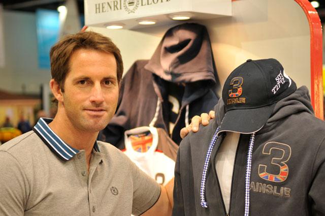 New Ben Ainslie Henri Lloyd clothing collection