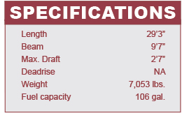 Beneteau Barracuda 9 specifications