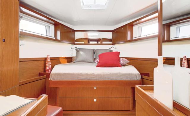 Sense 55 cabin