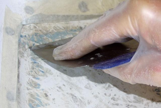 Boat paint preparation
