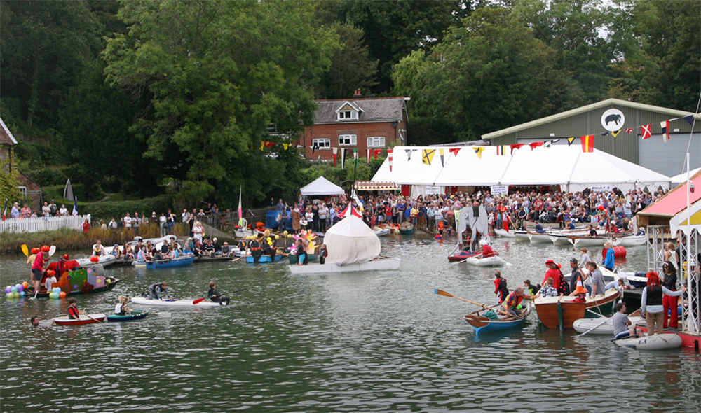 Action from the Bursledon Regatta - a fabulous regatta for all the family.