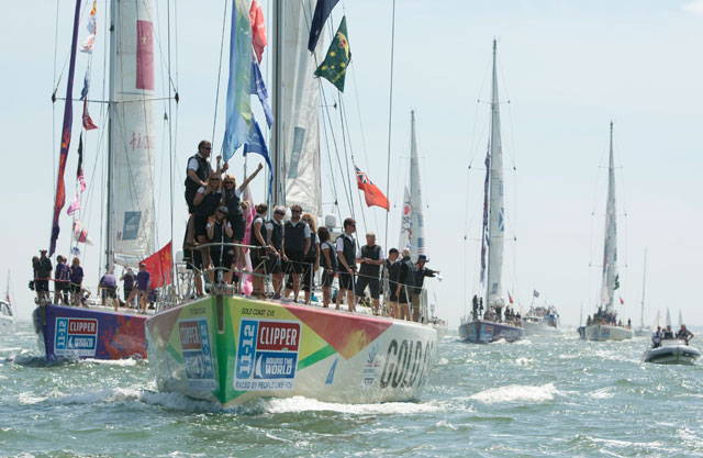 Gold Coast Austraila wins Clipper Race