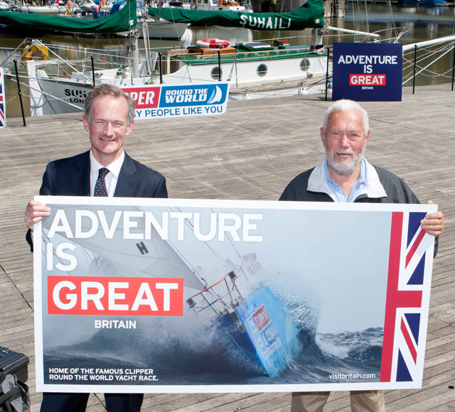 Sir Robin Knox-Johnston joins GREAT Britain campaign