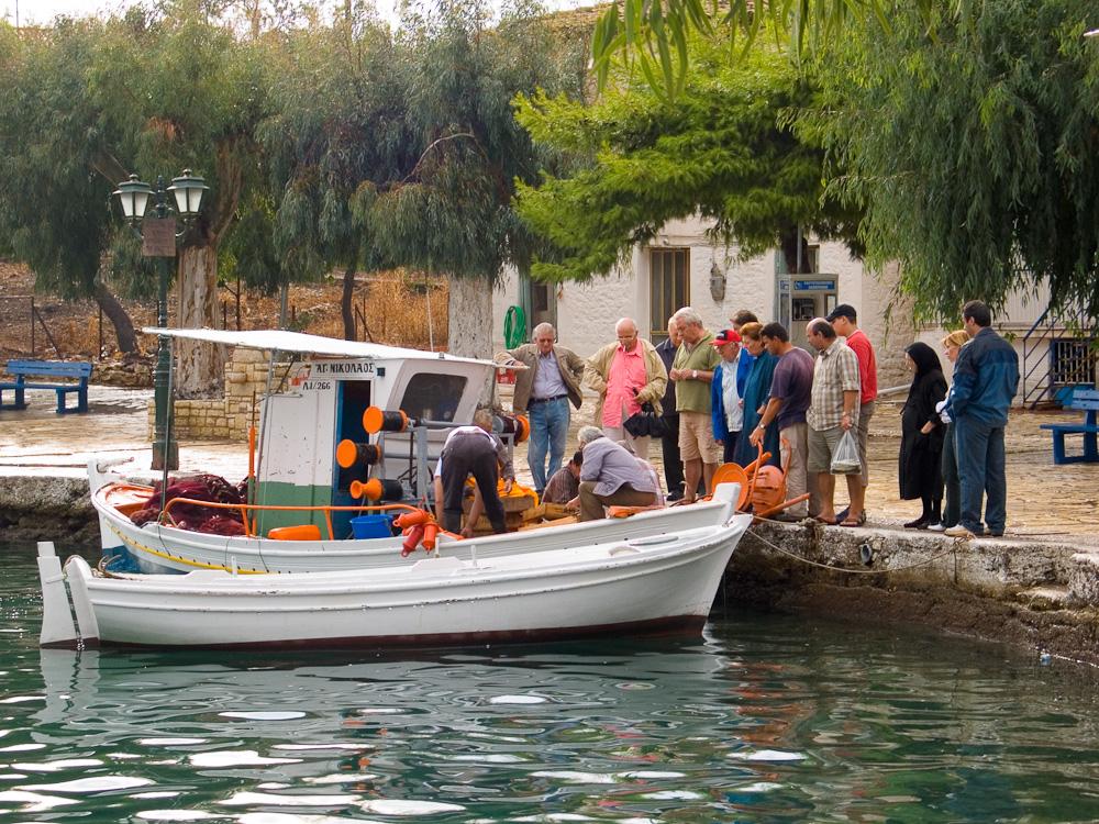 Fresh fish: Greek yacht charter destinations