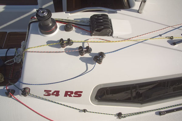 Easier sail handling - diverters