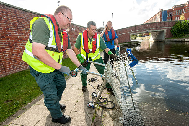 Waterways shopping trolley blight: new app launched