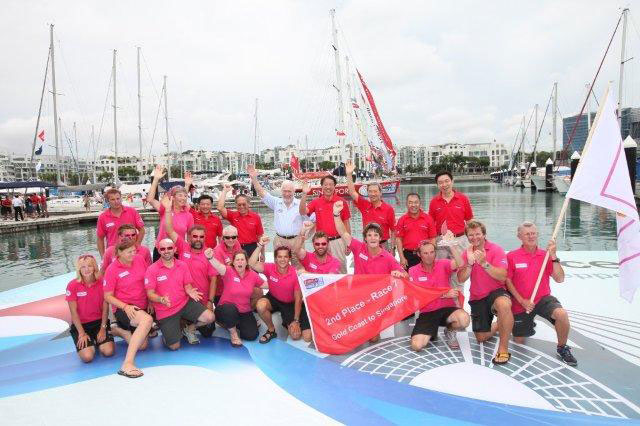 Clipper Race fleet reaches Singapore