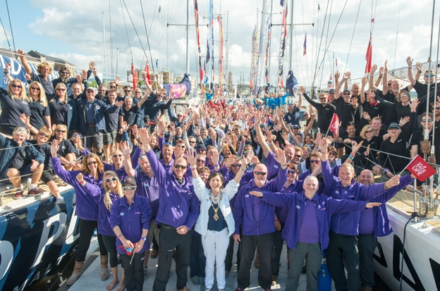 Clipper yachts set off on penultimate leg