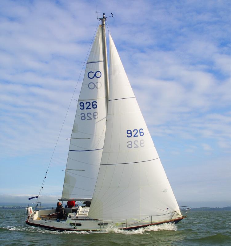 Contessa 32 – sail repair
