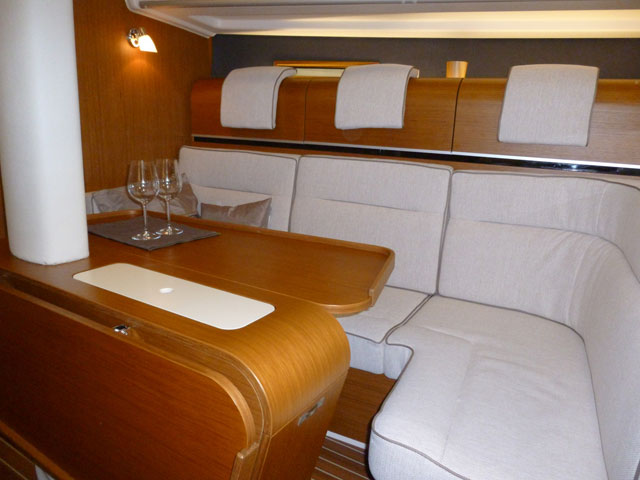 Dehler 38 interior joinery