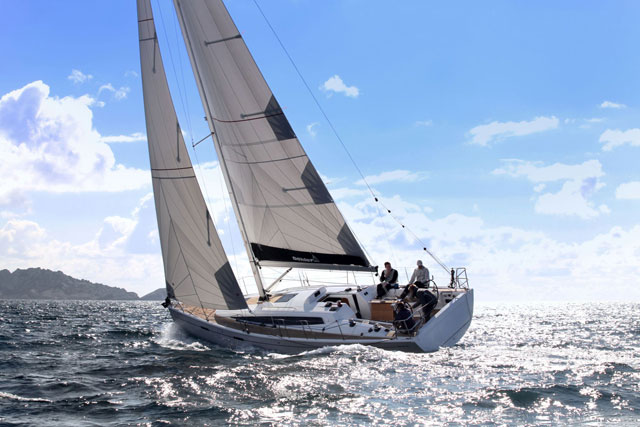 Dehler 38 under sail