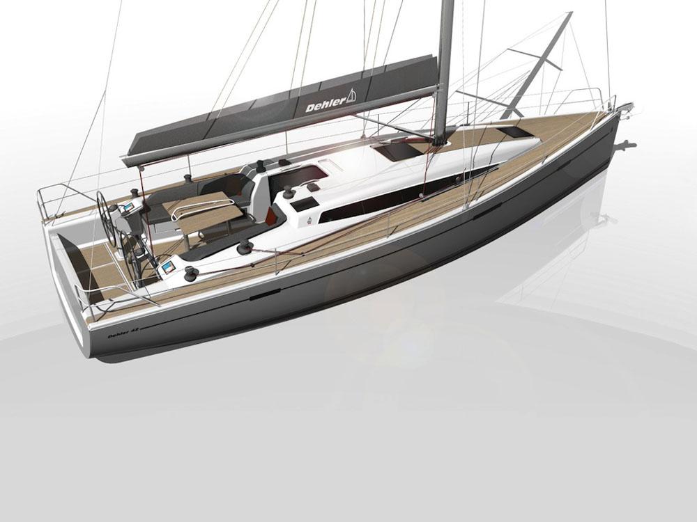 Dehler 42 review: deck layout