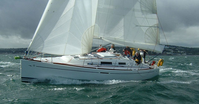 Well maintained yacht