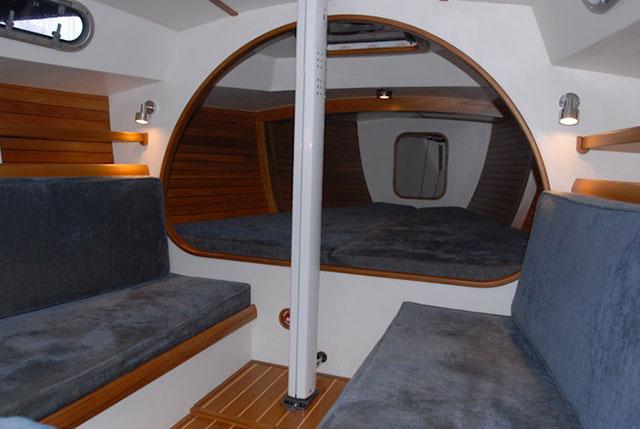 Rustler 33 below decks