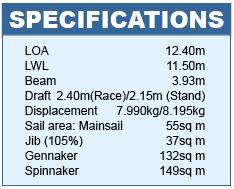 Dehler 41 Specifications