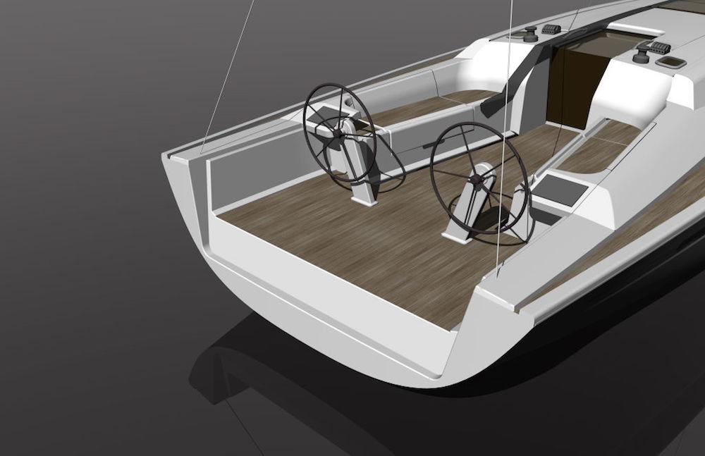 Cockpit view – Dehler 46 review