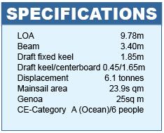 Delphia 31 Specifications