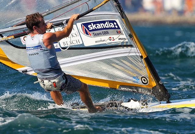 Nick Dempsey RS:X Olympic silver medallist
