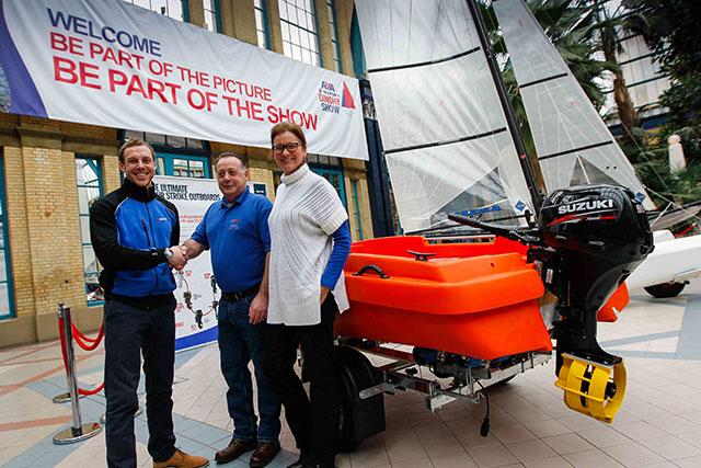 Greenwich YC wins Suzuki safety boat prize
