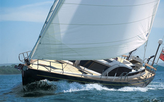 Discovery 57 boat review - Discovery 57 under sail