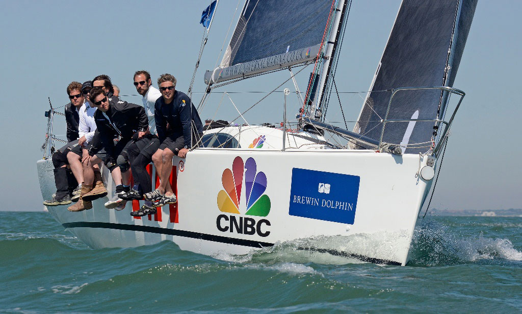 GBR Red wins 2012 Commodores' Cup