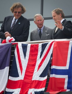 The Prince of Wales visits Weymouth sailing centre