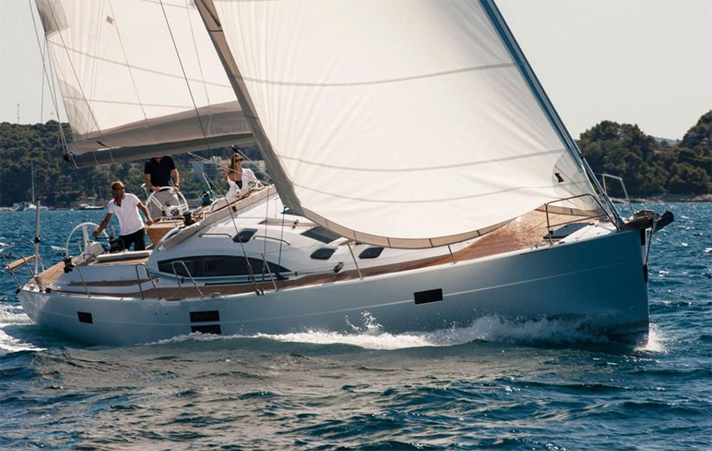 Elan Impression 50 under sail