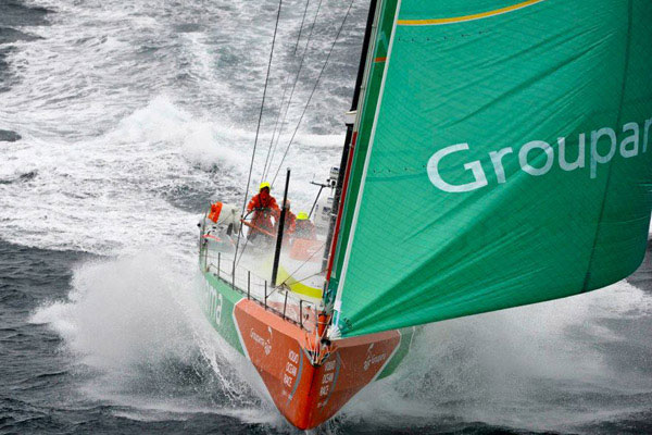 Victory in Lorient: Groupama wins leg eight of the Volvo Ocean Race
