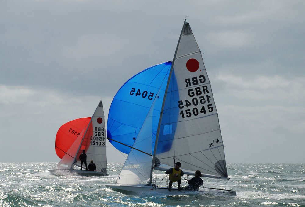 Fireball: best singlehanded dinghies for beginners