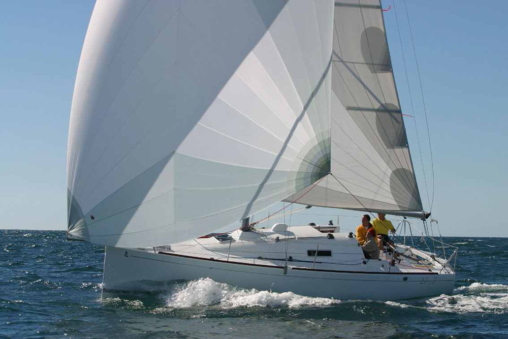 Beneteau First 27.7: best first sailing yachts